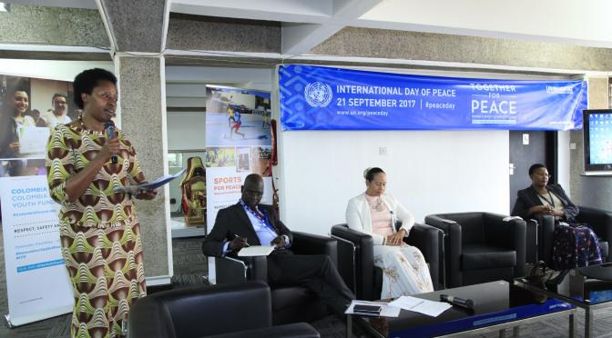UN-Habitat International Peace Day Event