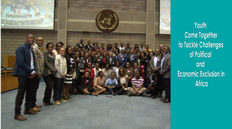 Youth Come Together to Tackle the Challenges of Political and Economic Exclusion in Africa